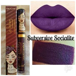 Lip Fashion Matte Gloss Subversive Socialite